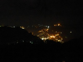 Night view of nainital from ARIES