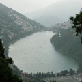 Distant view of Naini lake